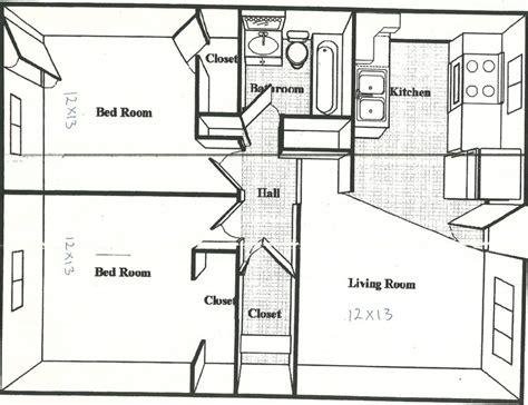 square feet house plans  sq ft apartment floor plan