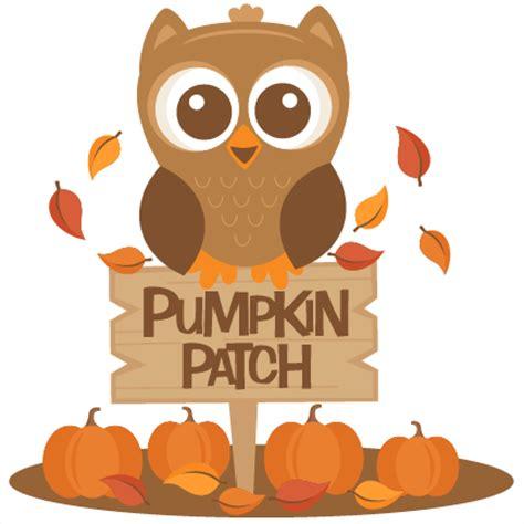 Pumpkin Patch Clipart Owl In Pumpkin Patch Svg Scrapbook Cut File Clipart