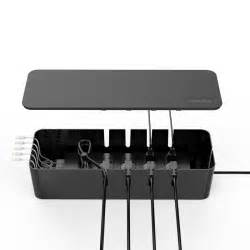 qicent cable management storage box organizer 15 3x5 4x3 5 inches large wire cord container