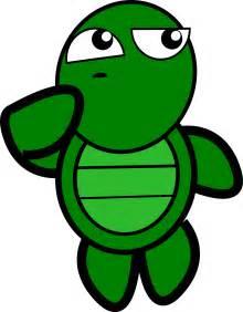 Thinking Turtle Clip Art