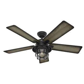 hunter avia 54 led ceiling fan ceiling fans costco