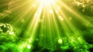Serene, Heavenly, Light, Rays, Motion, Background