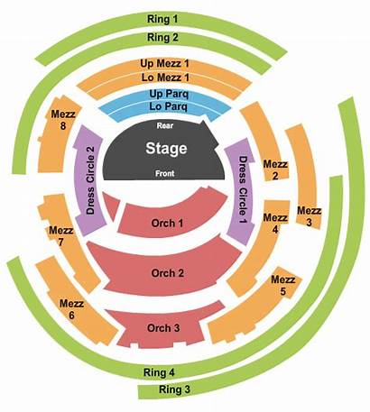 Concert Seating Hall Boettcher Chart Stage Center