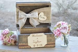 Urne Mariage Champêtre : 25 id es pour votre urne de mariage j 39 ai dit oui ~ Melissatoandfro.com Idées de Décoration