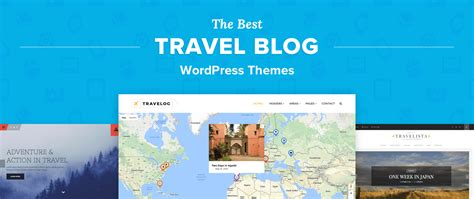 Top 12 Best Wordpress Travel Blog Themes For Journals & Photos