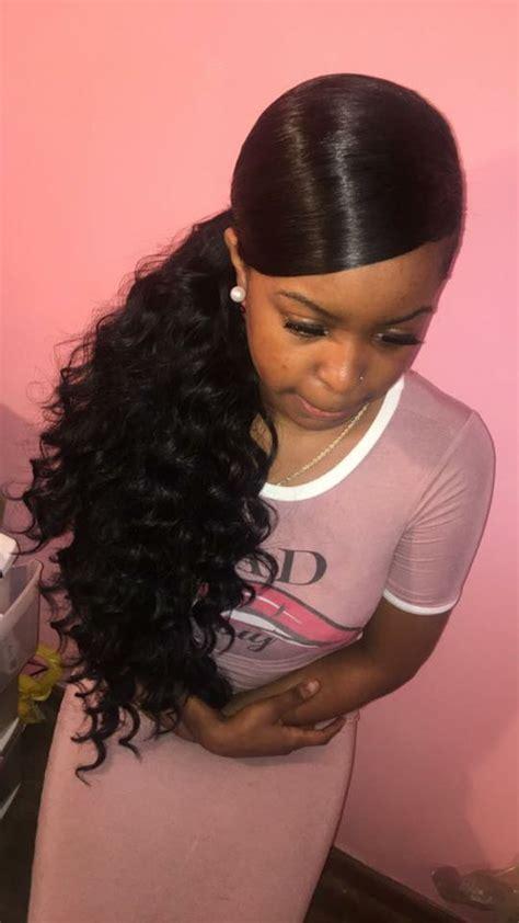 black girl ponytail styles  ponytail hairstyles