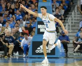 Lonzo Ball Basketball Player UCLA
