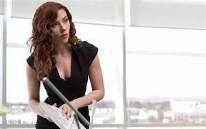 Black Widow (Iron Man 2) Widescreen Wallpaper - Scarlett