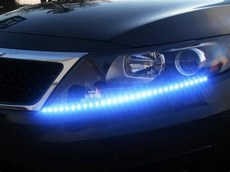 auto accessories headlight bulbs car gifts blue 30 cm