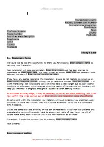 gas survey forms heating installation documentation