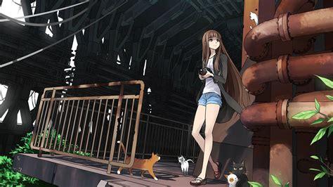 Brown Hair Anime Boy