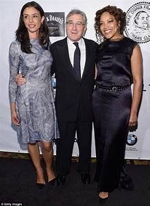 Robert De Niro shows off daughter Drena and wife Grace ...