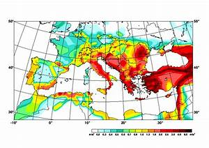 Compilation of the GSHAP regional seismic hazard