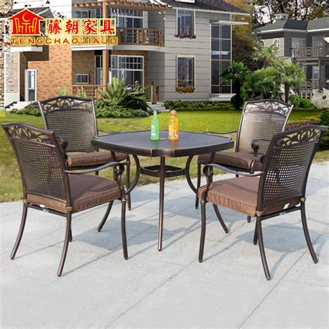 buy wholesale cast iron garden chairs from china