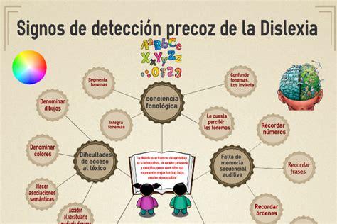dislexia detección precoz