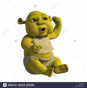 OGRE BABY SHREK THE THIRD; SHREK 3 (2007 Stock Photo ...
