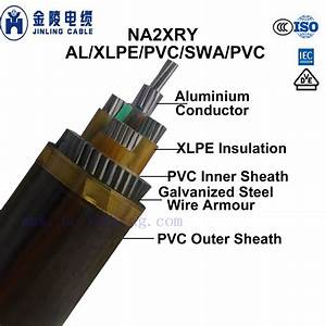China Na2xry Al  Xlpe  Swa  Pvc Insulted Steel Wire Armoured