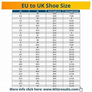 Shoe Size Conversion Chart Uk To Eu In 2020 Shoe Size