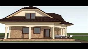 Vizualizace fasády rodinného domu