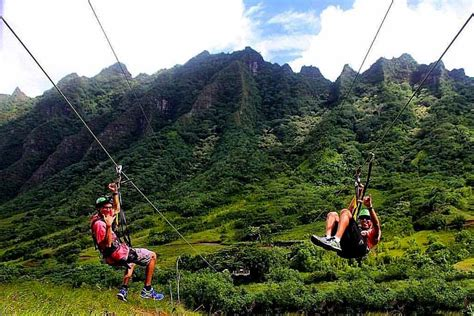 Zipline and ATV Adventure at Kualoa Ranch - Oahu Zipline