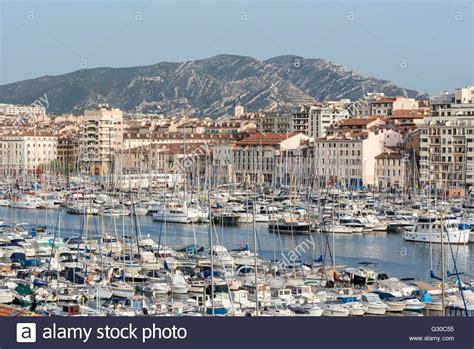 Pavillon Am Alten Hafen Marseille by The Port Of Marseille Vieux Port In Marseille Stock
