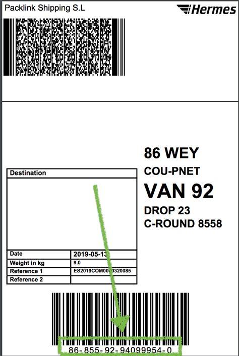 hermes return label labels   ideas