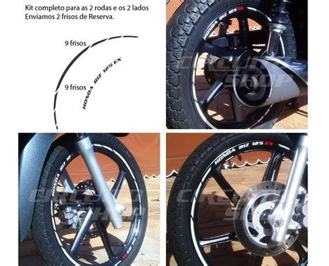 comprar friso adesivo refletivo rec03 roda moto honda biz 125 100 apenas r 64 90 aprender