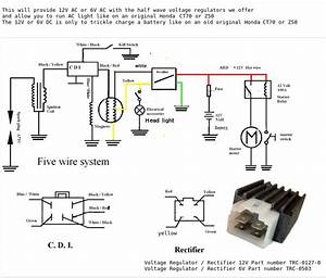 Ct110 Trail Bike Wiring Diagram