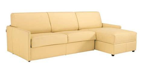 canapé lit matelas épais canape d 39 angle rapido sun cuir accoudoirs fin matelas