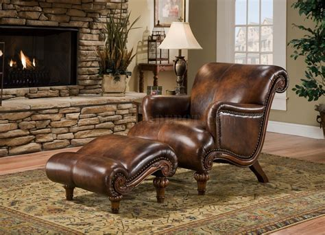 leather lounge chair with ottoman living room chairs with ottomans peenmedia com