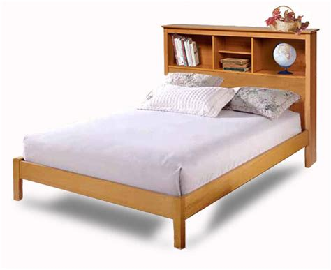 Platform Bookcase Bed by Bookcase Headboard Platform Bed Woodworking Plans On