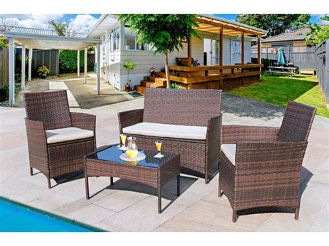 Wicker Patio Chairs Clearance by Homall 4 Pieces Outdoor Patio Furniture Sets Clearance
