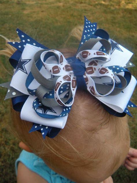 foto de Dallas Cowboys bow Girls bows Headbands Dallas cowboys