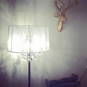 crystal chandelier floor lamp by made with love designs With katherine chandelier floor lamp