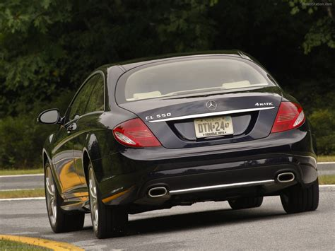 2009 Mercedes Benz Cl550 4matic Exotic Car Picture 07 Of