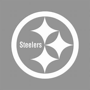 Pittsburgh Steelers NFL Team Logo 1 Color Vinyl Decal