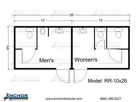 Bathroom Design Floor Plans modular building floor plans modular restroom and