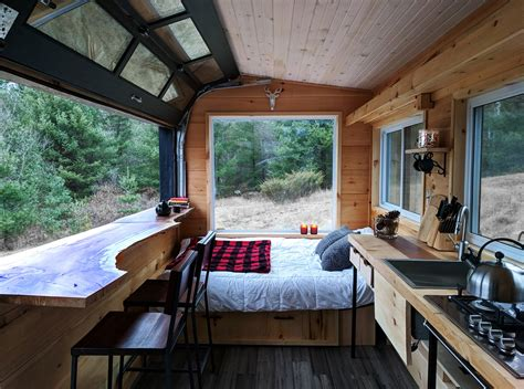 160 sq ft off grid cabin at cabinscape