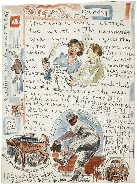 beautifully illustrated letters  van gogh warhol