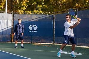 BYU tennis courts have the Pearce family all over!