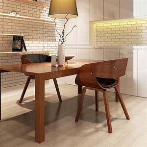 Küchen Und Esszimmerstühle : 2 x esszimmer stuhl st hle sessel esszimmerst hle holzrahmen braun g nstig kaufen ~ Watch28wear.com Haus und Dekorationen