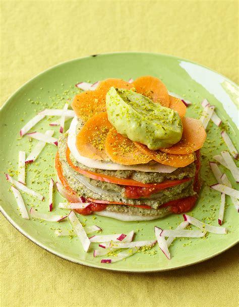 recette de cuisine pour maigrir lasagne crue de légumes recettes de printemps pour