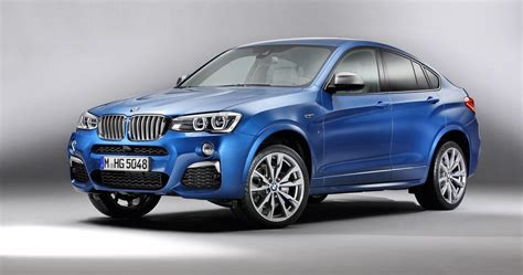 Bmw X4 M40i Images And Details Leaked Photos 1 Of 4