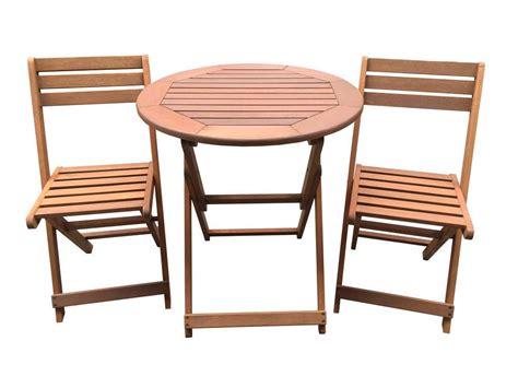 Salon De Jardin Table Et Chaises Salon De Jardin En Bois Exotique Sydney Quot Maple Quot Marron Clair Table Pliante 216 70 Cm 2