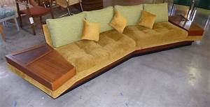 Sectional sofa with tables built in pictures to pin on for Sectional sofa with built in table