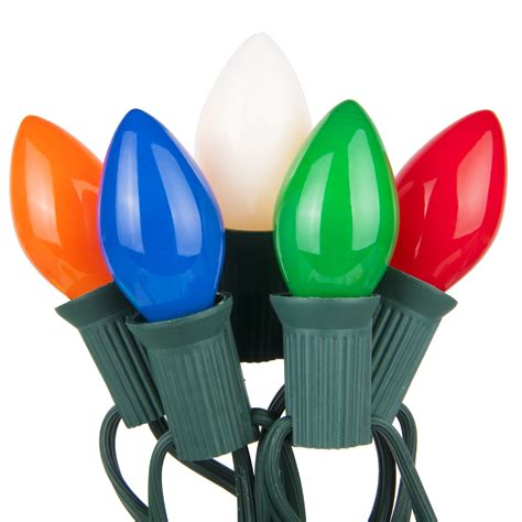 christmas lights   opaque multicolor christmas lights