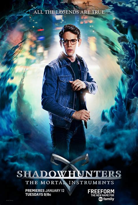 Shadowhunters The Mortal Instruments Character Posters