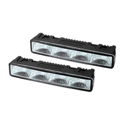 philips 4 led daylight daytime running lights drl fog