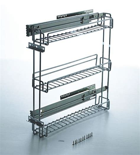 slide out spice racks for kitchen cabinets 3 inch pullout kitchen spice rack cabinet pull out 9767