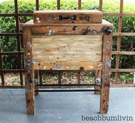 plans  build rustic wood cooler plans  plans